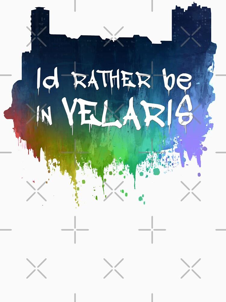 I'd Rather Be In Velaris by EllunaArts