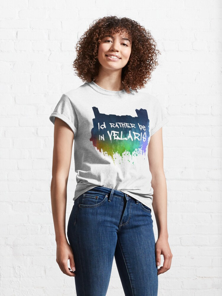 Alternate view of I'd Rather Be In Velaris Classic T-Shirt