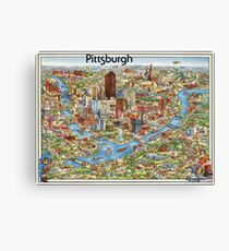 Pittsburgh 1978 Limited Edition Canvas Print