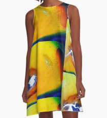 And the Wind Cries Mary A-Line Dress