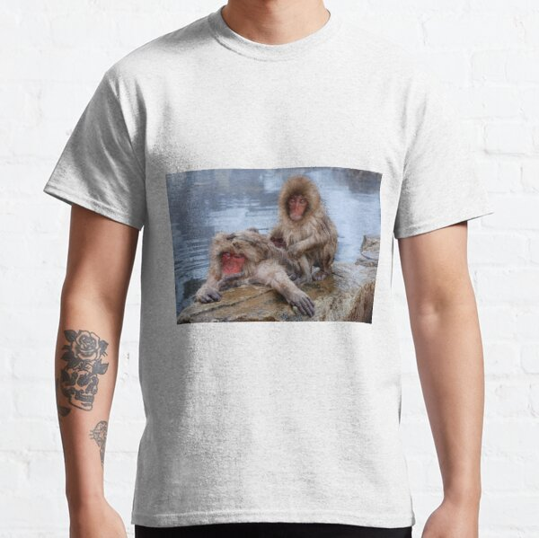 Snow Monkeys of Japan Classic T-Shirt