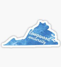 Longwood Virginia Sticker