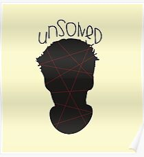 """Red is """"UNSOLVED"""" Poster"""