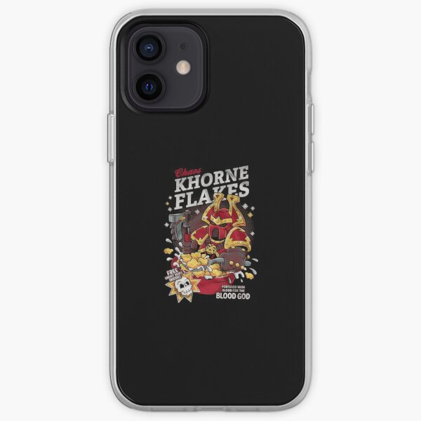 Chaos Khorne Flakes Fortified With Blood For The Blood God  iPhone Soft Case