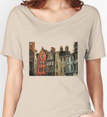 Edinburgh skyline Women's Relaxed Fit T-Shirt