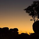Marble Silhouettes - Devil's Marbles Conservation Reserve by Dilshara Hill