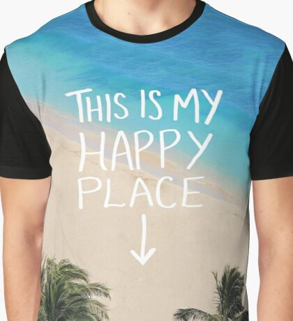 Happy Place Graphic T-Shirt