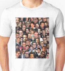 robert downey jr. collage Unisex T-Shirt