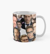 robert downey jr. collage Mug