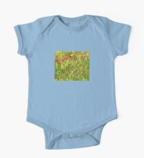 Surreal Hypnotic Poppies One Piece - Short Sleeve