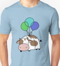 Balloon Cow Unisex T-Shirt