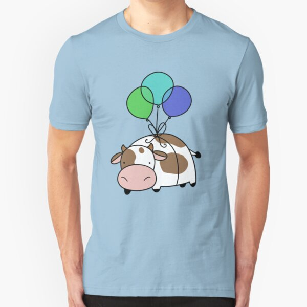 Balloon Cow Slim Fit T-Shirt