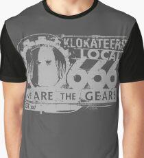 Dethunion - Grey Graphic T-Shirt