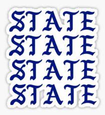 STATE PABLO  Sticker