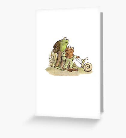 Frog & Toad Greeting Card