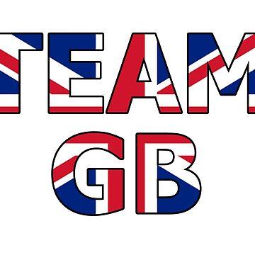 Patriotic Team Great Britain (GB) by RedTees