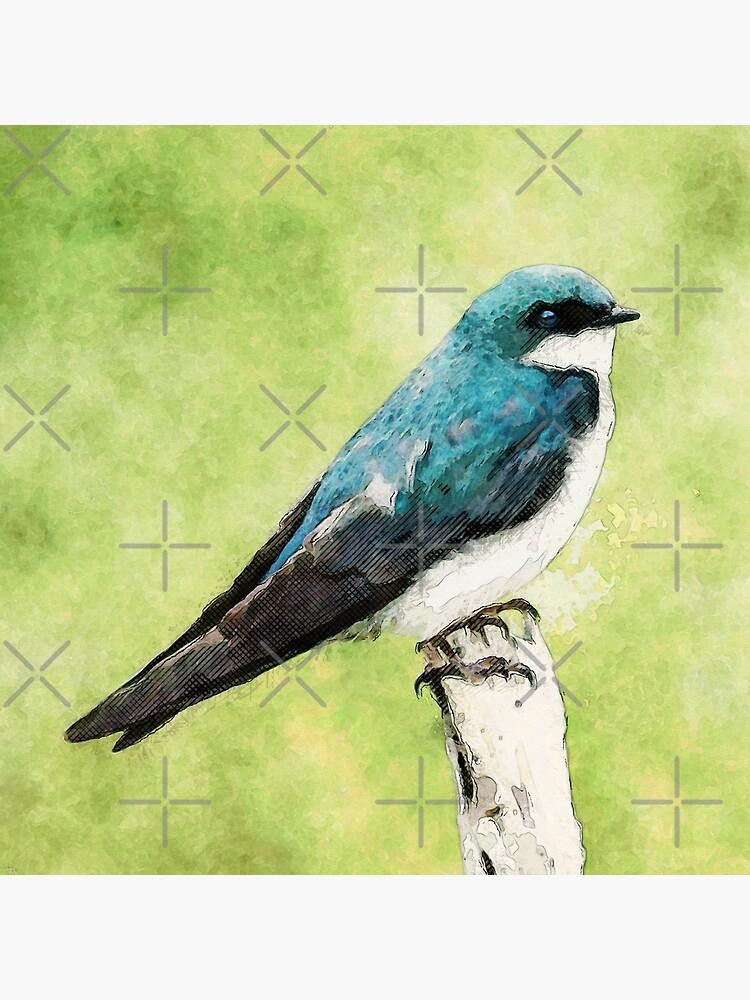 Blue Bird by perkinsdesigns