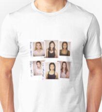 model polaroids Unisex T-Shirt