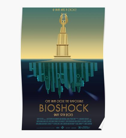 Bioshock Faux Movie Poster Poster