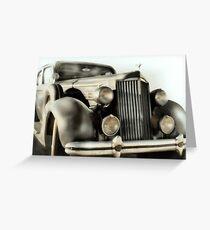 Classic Car 1937 Packard Greeting Card