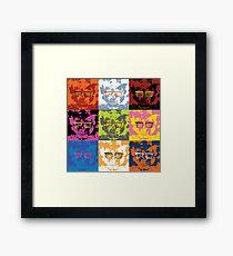 Venture Bros Pop Art Framed Print