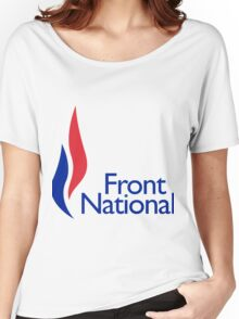 Front national Women's Relaxed Fit T-Shirt
