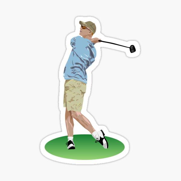 Best golfer Sticker