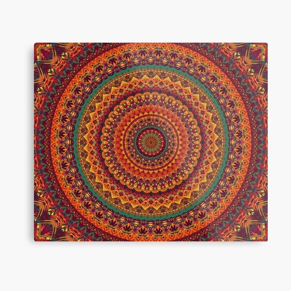 Mandala 117 Metal Print