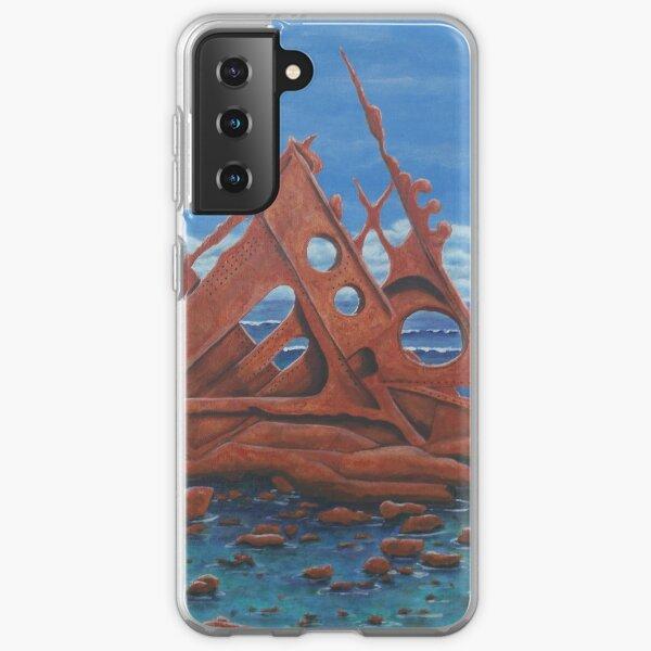 Shipwreck, Phillip Island Samsung Galaxy Soft Case