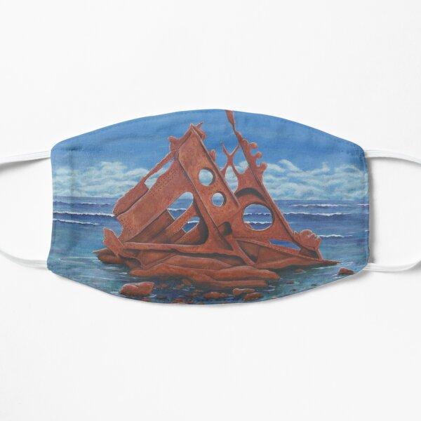 Shipwreck, Phillip Island Flat Mask