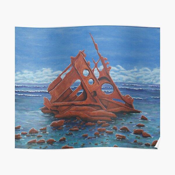 Shipwreck, Phillip Island Poster