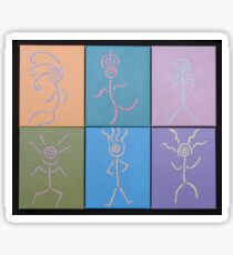 Little Dancers 1-6 Sticker