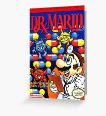 Dr. Mario Greeting Card