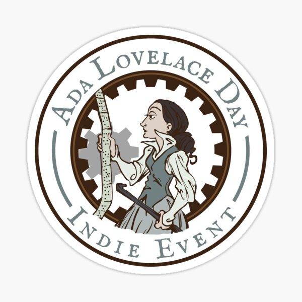 Ada Lovelace Day Indie Event Stickers! Sticker