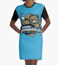 Sunnyvale Samsquanches Graphic T-Shirt Dress