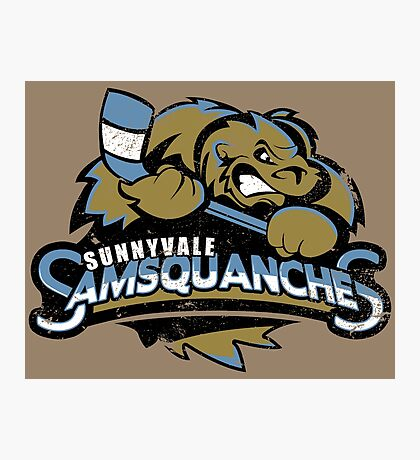 Sunnyvale Samsquanches Photographic Print