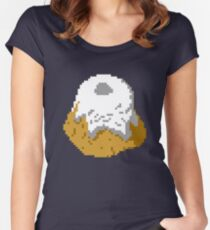 Pixel Sweetroll Women's Fitted Scoop T-Shirt