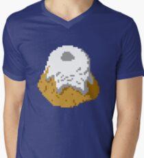 Pixel Sweetroll Men's V-Neck T-Shirt