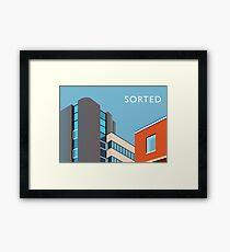 STOCKPORT - Former GPO Building Framed Print