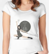 """Firefly """"River Tam"""" Women's Fitted Scoop T-Shirt"""