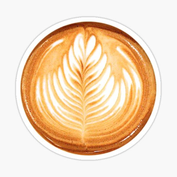 Kaffee Sticker