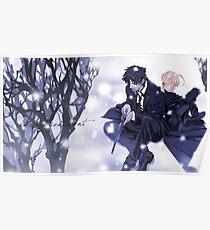 Fate Zero Saber and Kiritsugu Emiya Poster