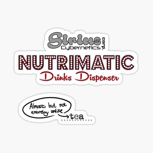 Nutrimatic Tea Sticker