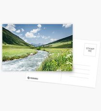 Switzerland valley Postcards