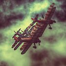 Breitling Wing Walkers by Nigel Bangert