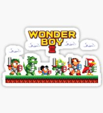 Wonder Boy Sticker