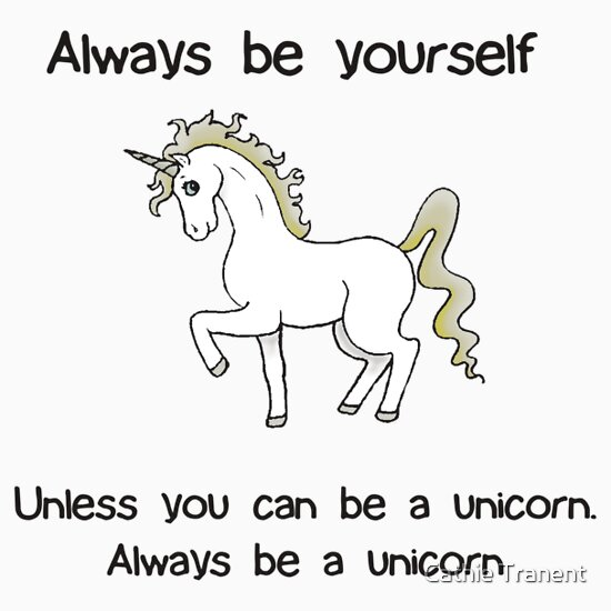TShirtGifter presents: Always Be Yourself - Unicorn | Women's T-Shirt