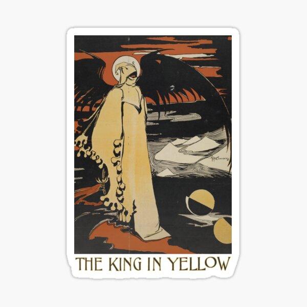 Robert W. Chambers' The King In Yellow Sticker