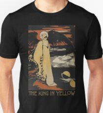 Robert W. Chambers' The King In Yellow Unisex T-Shirt