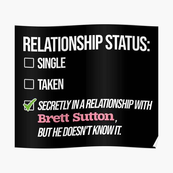 Relationship with Brett Sutton Poster